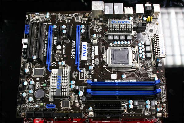 Sneak Peek: MSI P55-GD65 motherboard spotted - Motherboards  1