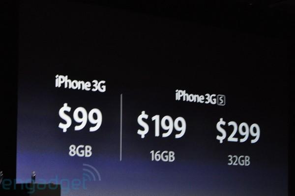 Apple's Pre-launch announcement