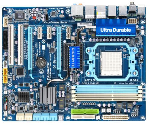 Gigabyte GA-MA790FXT-UD5P 790FX AM3 Motherboard Review - Motherboards 79