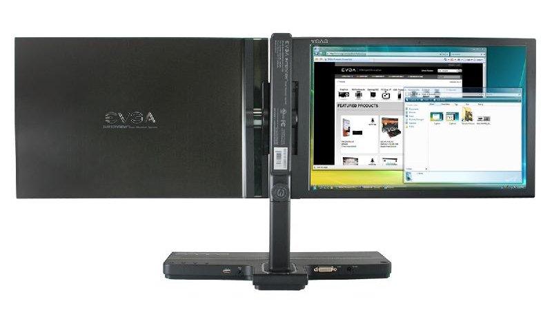 EVGA Introduces InterView Dual-Display - Displays  1
