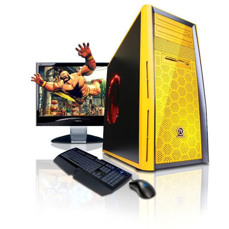 CyberPower Announces Street Fighter IV NVIDIA PC Bundle - General Tech 2