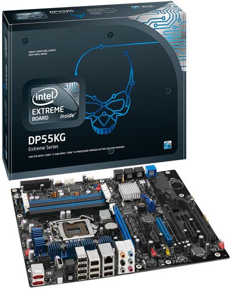 Intel DP55KG P55 Lynnfield Motherboard Review - Motherboards  1