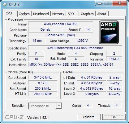 AMD Phenom II X4 965 Rev. C3: Taking Power Down a Notch - Processors 11