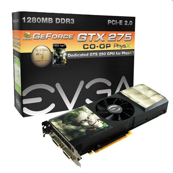 When is SLI not SLI?  EVGA Hybrid GTX 275/GTS 250 card
