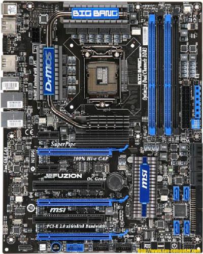 More Details on MSI Big Bang Fuzion Lucid HYDRA platform - Motherboards 2