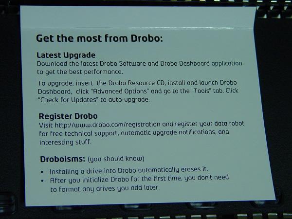 Data Robotics, Inc. DroboPro 8-Bay In-depth Review - Storage  9