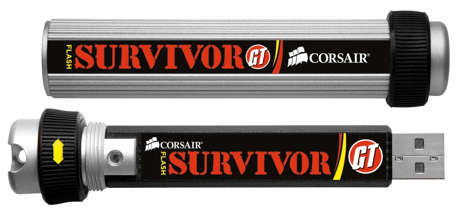 Corsair Announces New Flash Survivor GT Family of USB Flash Drives