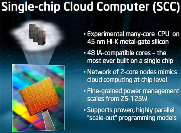 Intel Shows 48-core x86 Processor as Single-chip Cloud Computer - Processors  3