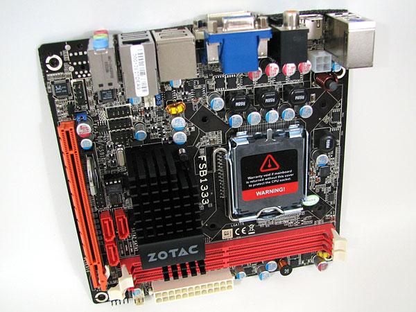 Zotac Geforce 9300-ITX WiFi LGA775 Motherboard Review - Motherboards  73
