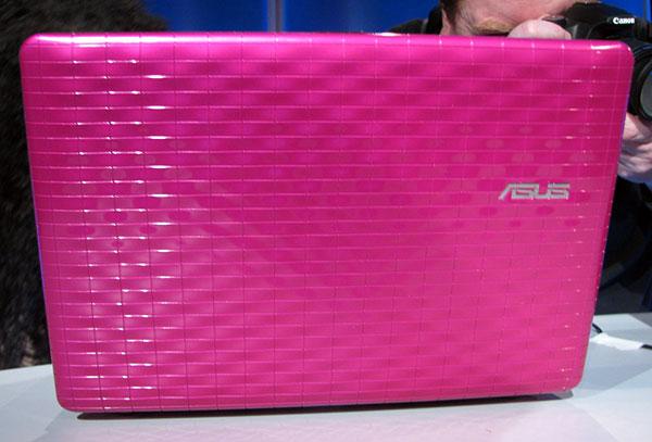 CES 2010: ASUS Eee PC Seashell 1008P Karim Rashid Collection - Mobile 5