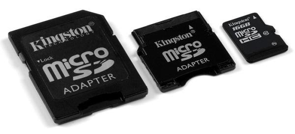 10 MB/sec, 16GB, all in one Kingston microSDHC card! - Storage 2