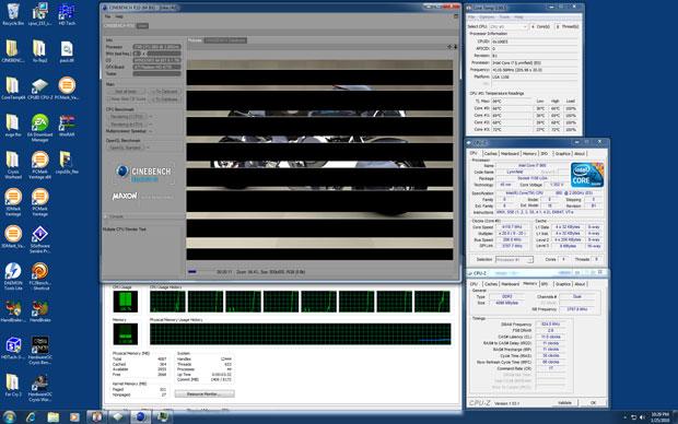EVGA P55 FTW LGA 1156 ATX Motherboard Review - Motherboards 72