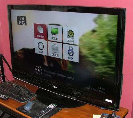 "LG 47LH30 47"" 1080p Widescreen TV Review - Displays  1"