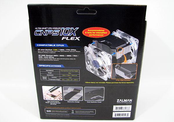 Zalman CNPS10X Flex Heatsink Review - Cases and Cooling  30