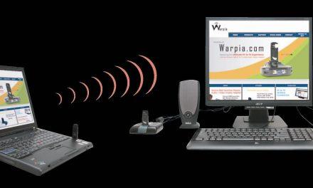 Warpia Debuts Wireless Laptop Docking Station