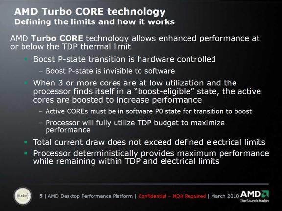AMD's Turbo Core Technology - Processors 6