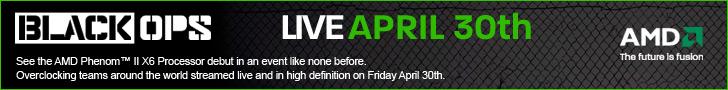 AMD Black Ops – Live on April 30th