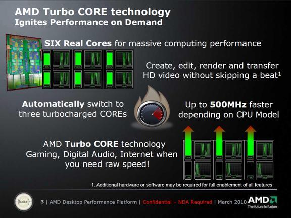 AMD's Turbo Core Technology - Processors 4