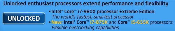 Intel Core i7-875K and Core i5-655K Unlocked Processor Review - Processors 76