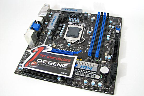 MSI H55M-ED55 LGA 1156 Micro ATX Motherboard Review - Motherboards 76