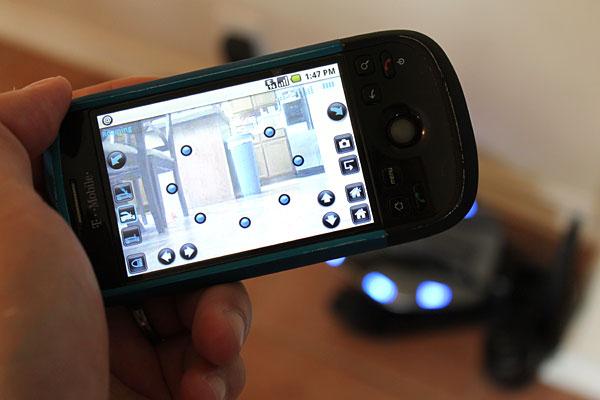 WowWee Rovio Mobile Webcam Review - General Tech  2