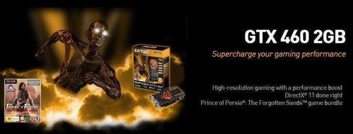 PRESS RELEASE: ZOTAC announces the new ZOTAC GeForce GTX460 2GB - Graphics Cards 2