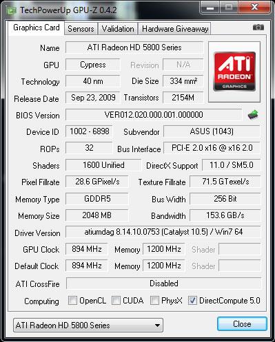ASUS Radeon HD 5870 ROG Matrix and V2 Graphics Cards Reviewed - Graphics Cards 103