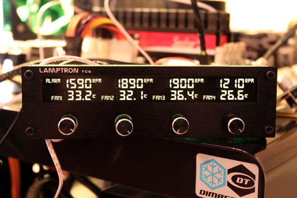 Lamptron FC6 Fan Controller Review - General Tech 31
