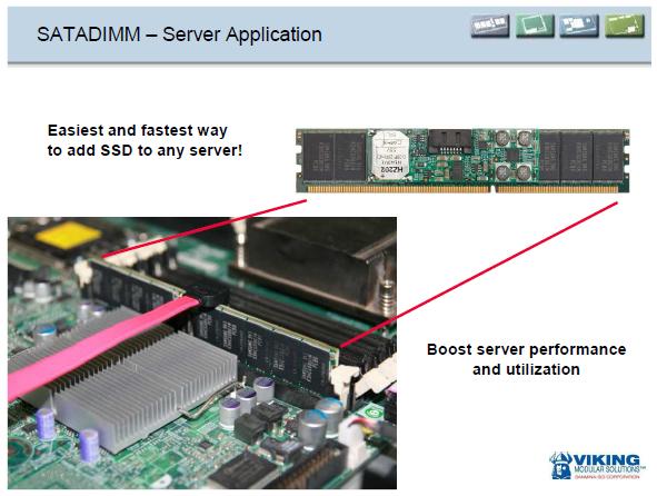 The Viking SATADIMM - Enterprise SandForce punch packed into a DIMM! - Storage  1