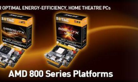 ZOTAC announces a duo of AMD 800 series platforms