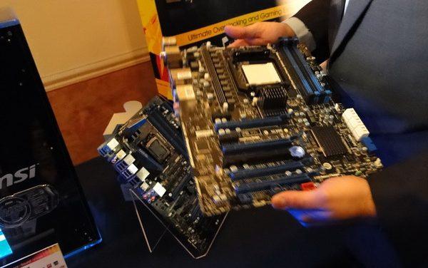 CES 2011: Sneak peek of the MSI AMD 990FX Motherboard