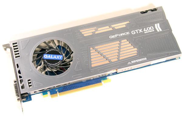 Galaxy GeForce GTX 460 Razor 1GB - Single Slot Gaming - Graphics Cards 79