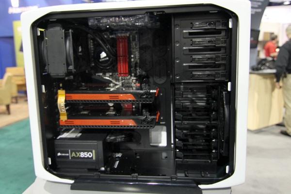 CES 2011: Corsair announces new 650DW and a white 600T