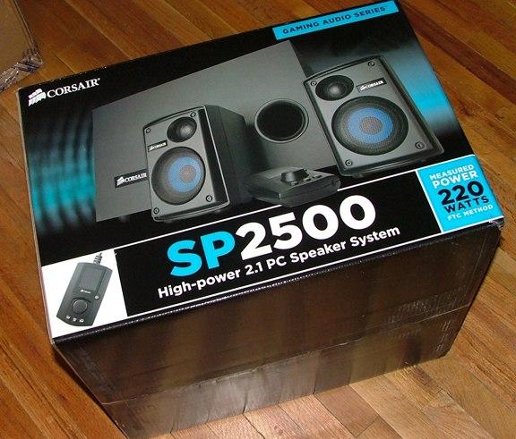 Corsair SP2500 2.1 Speaker Review - Corsair enters another market - General Tech  2