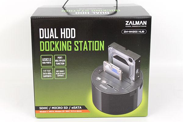 Zalman ZM-MH200 Dual HDD Docking Station Review - Storage 23