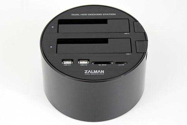 Zalman ZM-MH200 Dual HDD Docking Station Review - Storage  1