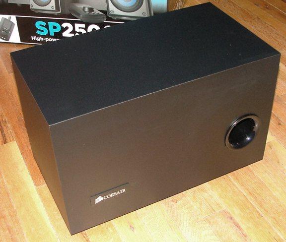 Corsair SP2500 2.1 Speaker Review - Corsair enters another market - General Tech 14