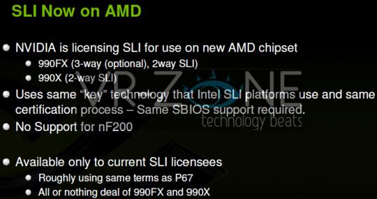 AMD's Bulldozer boards will support SLI - General Tech 2