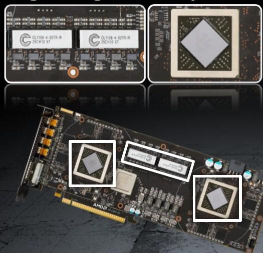 AMD Radeon HD 6990 4GB Dual GPU Cayman Graphics Card - Graphics Cards  4