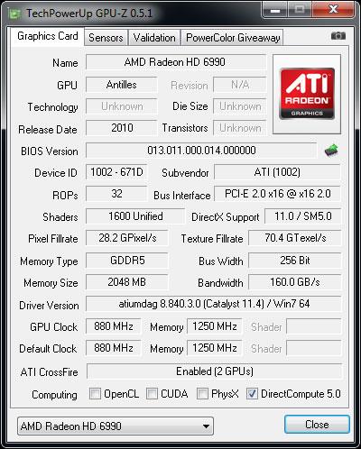 AMD Radeon HD 6990 4GB Update - Overclocking Performance - Graphics Cards 48