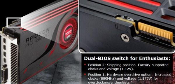AMD Radeon HD 6990 4GB Dual GPU Cayman Graphics Card - Graphics Cards  2