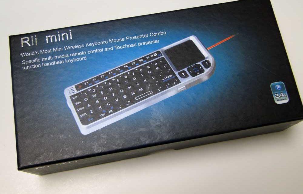 Just Delivered: Rii Mini wireless USB HTPC Remote