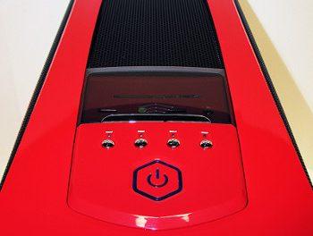 Da red onez go faster!  Sentey's big and bright GS-6400R Arvina case