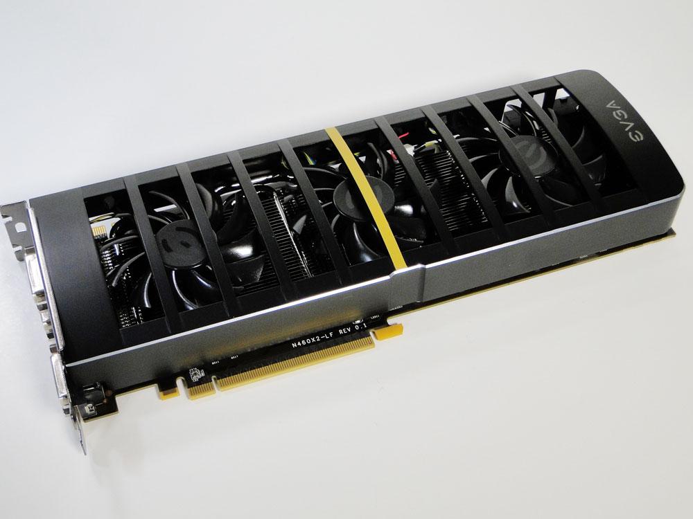 EVGA GeForce GTX 460 2WIN 2GB dual-GPU Graphics Card Review