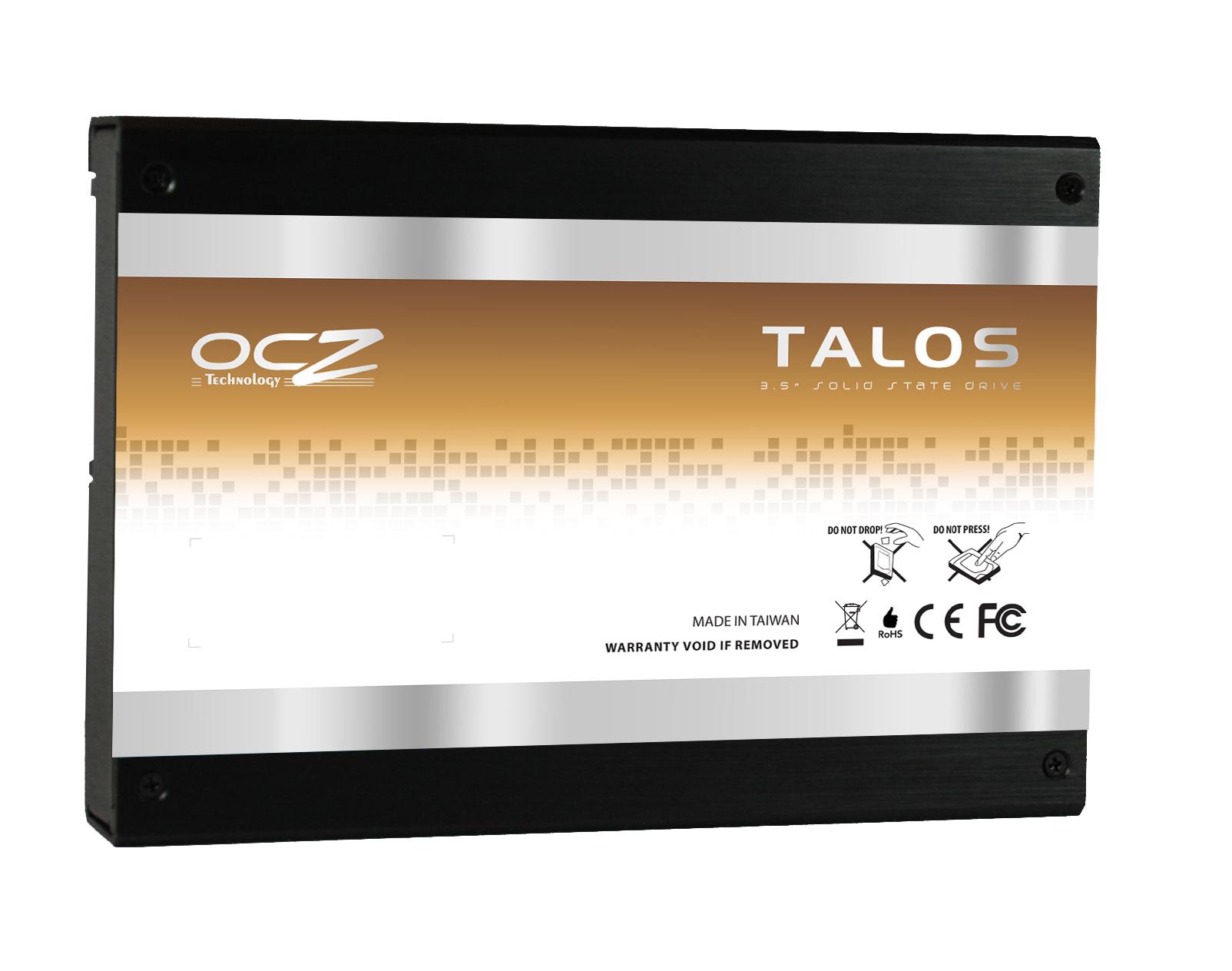 OCZ Unviels New Talos SAS 6Gbps SSDs