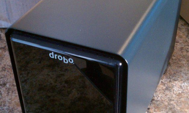 Just Delivered: Drobo FS 5-bay Network Storage