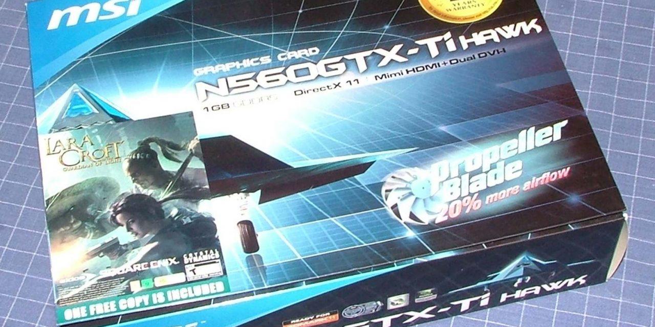 MSI N560GTX-Ti HAWK Graphic Card Review