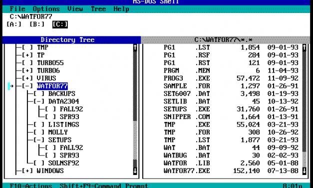 Older than DOS … but not dirt