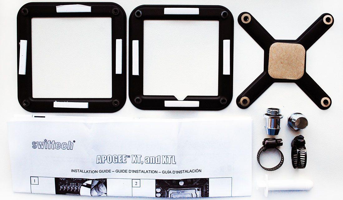 Swiftech's H2O-X20 Edge watercooling kit is effective, if a little loud