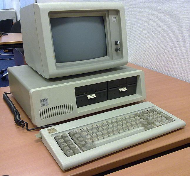 Happy 30th birthday IBM PC 5150!